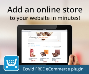 Add an online store to your website in minutes. Ecwid free ecommerce plugin
